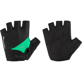 Roeckl Napoli Guantes largos, black/green